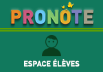 Pronote Espace Eleves